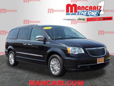 Certified Pre-Owned 2016 Chrysler Town & Country Touring-L - One Owner 40GB Hard Drive TV DVD