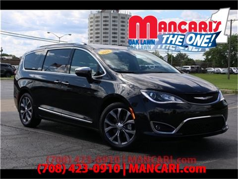 Certified Pre-Owned 2018 Chrysler Pacifica Limited - Naviagtion SunRoof DVD Blu-Ray