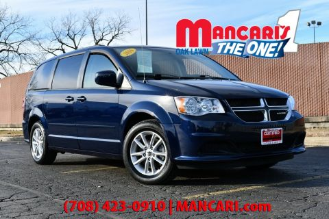 Certified Pre-Owned 2016 Dodge Grand Caravan SXT - ONE OWNER 3RD ROW SEATS REMOTE START