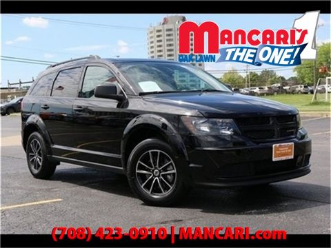 Certified Pre-Owned 2018 Dodge Journey SE - ONE OWNER 3RD ROW SEATS REMOTE KEYLESS ENTRY