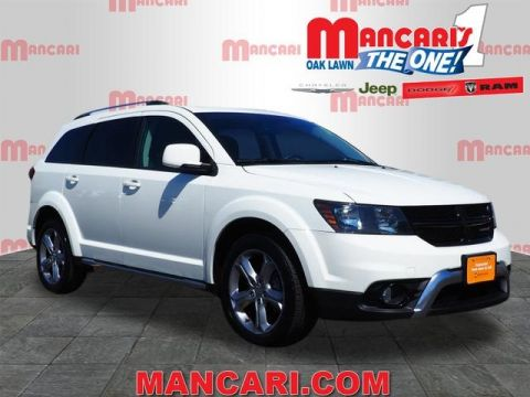 Certified Pre-Owned 2017 Dodge Journey Crossroad - 3RD ROW SEATS ONE OWNER