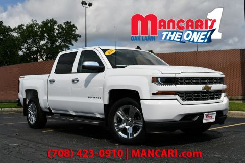 Pre-Owned 2018 Chevrolet Silverado 1500 Custom - 4X4 ONE OWNER BACKUP CAMERA TOW HITCH