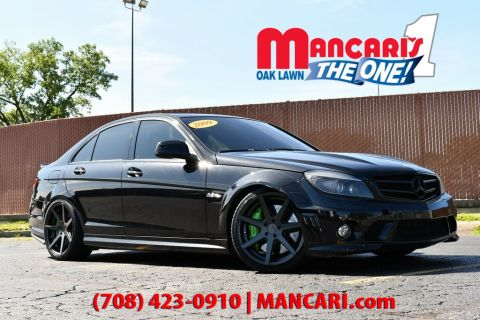 Pre-Owned 2009 Mercedes-Benz C-Class C 63 AMG® - NAVIGATION CUSTOM AIR RIDE SUSPENSION