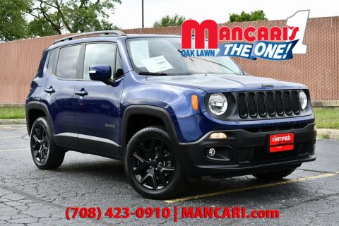 Certified Pre-Owned 2017 Jeep Renegade Latitude - ONE OWNER 4X4 REMOTE START