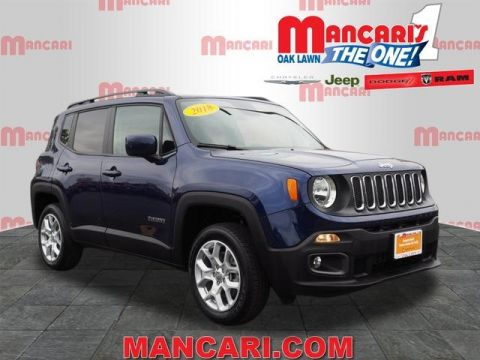 Certified Pre-Owned 2018 Jeep Renegade Latitude - 4X4 REMOTE KEYLESS ENTRY BACKUP CAMERA