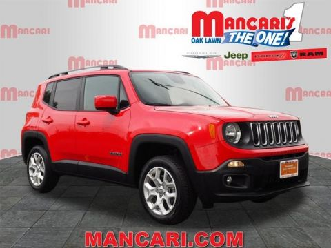 Certified Pre-Owned 2018 Jeep Renegade Latitude - 4X4 BACKUP CAMERA REMOTE KEYLESS ENTRY