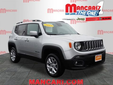 Certified Pre-Owned 2018 Jeep Renegade Latitude - 4X4 Apple CarPlay Google Android Auto