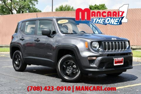 Certified Pre-Owned 2019 Jeep Renegade Sport - 4X4 ONE OWNER BACKUP CAMERA PUSH START